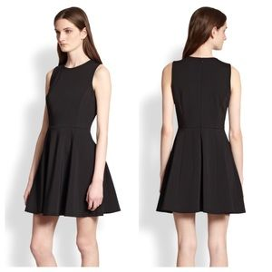 Theory Tillora Jersey Sleeveless Black Dress
